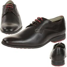 Clarks Gleeson Walk leather Men's Lace shoes leather dark brown