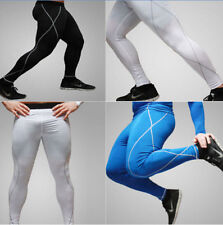 M-XXL Men Thermal Compression Under Tight Long Leggings Base Layer Fitness Pants