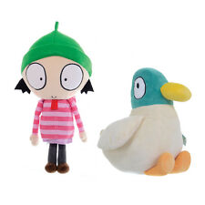CBeebies Sarah & Duck Large Soft Plush Childrens Cuddly Toys Huggable