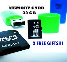 32GB Micro SD MicroSd Memory Card SDHC UHS Class 10 for Smartphone Tablet Camera