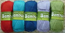 100g Bamboo Cotton Knitting Yarn 4ply King Cole