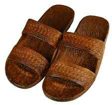 Brown Rubber Hawaiian Jesus Sandals, by Pali Adult size 7-11 ~ Brand New