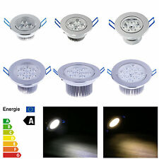 Dimmable 9W 12W 15W 21W 27W 36W LED Recessed Ceiling Light Healthy White Energie