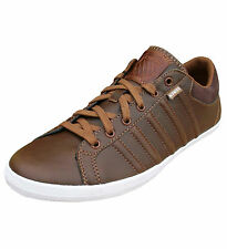 K-Swiss Men's Hof IV S VNZ Lightweight Casual Fashion Retro Trainers Shoes brown