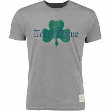 Original Retro Brand Notre Dame Fighting Irish Logo Tri-Blend T-Shirt - Ash
