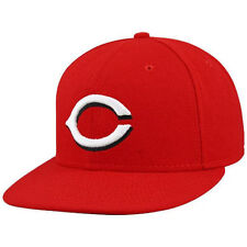 Cincinnati Reds New Era Youth AC On-Field 59FIFTY Performance Fitted Hat - MLB