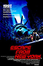 Escape From New York - 1981 - Movie Poster