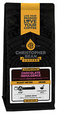 Christopher Bean Coffee CHOCOLATE INDULGENCE Flavored Coffee 1-12-Ounce Bag