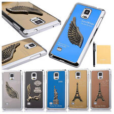 Luxury Cool 3D Pattern Aluminum Metal Back Case Cover For Samsung Galaxy iPhone