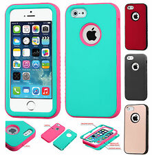Apple iPhone 5 5S SE IMPACT Verge HYBRID Hard Case Skin Phone Cover Accessory