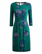 JOULES WOMENS VICKY GREEN PEONY DRESS - BNWT