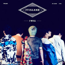 FTISLAND - I Will (5th Album ) CD+Photo Booklet+Photo Card+Poster+Gift