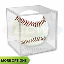 Clear BallQube Baseball Cube Display Case Holder (Pick Style & Number of Cubes)