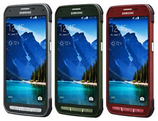 MINT AT&T Unlocked Samsung Galaxy S5 Active G870A  latest model  Red/Gray/Green