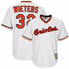 Matt Wieters 1982 Baltimore Orioles Cooperstown Home (White) Cool Base Jersey