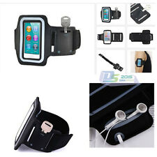 8Colors Sport Running Gym Armband Cover Case for Apple iPod Nano 7 w/ Key Pouch