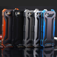 Waterproof Shockproof Aluminum Gorilla Glass Metal Case for iPhone 5/5S 6 6 Plus