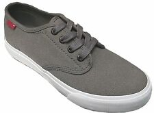 LEVIS 535095-10G EVAN CANVAS Junior Kids Boys Grey Casual School Shoes Sneakers