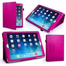 BOOK WALLET Flip LEATHER Stand Case Cover for Apple iPad 2/3/4 Mini 1/2/3 Air 1