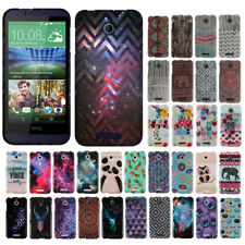 For HTC Desire 510 Desire 512 Aztec Snap On HARD Case Cover Accessory
