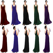 2014 Women's Long Cocktail Party Dress Bridesmaid Formal Dress Prom Gown