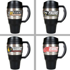 Choose Your NHL Hockey Team 20oz Insulated Stainless Steel & Plastic Travel Mug