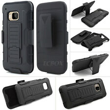 Future Armor High Impact Kickstand Combo Case + Belt Clip Holster for HTC One M9