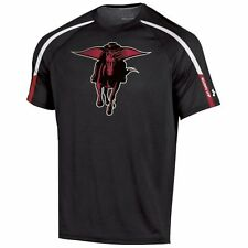 Mens Texas Tech Red Raiders Under Armour Black Ultimate Performance T-Shirt