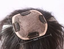 Silk top 100% top quality remy human hair men's toupee wig women hairpiece wigs
