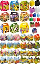 10 Childrens Kids Party Lunch Boxes Loot Bag Party Favour Birthday Party Boxes