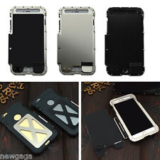 """Original R-JUST Protective Case Flip Cover Stainless Steel fr iPhone 6 Plus 5.5"""""""