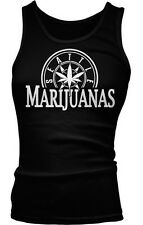 Seattle Marijuanas - Pot Head Weed Funny Sayings  Boy Beater Tank Top