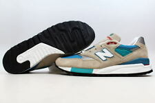 New Balance Classics Cool Grey/Aqua-White Connoisseur Summer M998CSB ALL SIZES