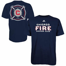 Chicago Fire SC adidas Primary One T-Shirt - Navy Blue-