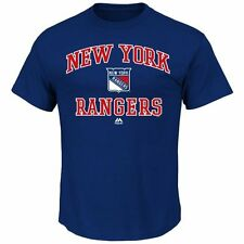 New York Rangers Majestic Heart & Soul T-Shirt - Royal Blue - NHL