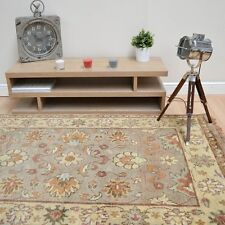 Plantation Traditional Taj Agra Beige 02 Wool Rug in various sizes and runner