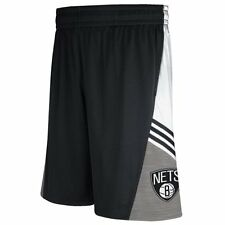 Brooklyn Nets adidas 2014 Pre-Game Shorts - Black - NBA