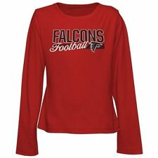 Atlanta Falcons Girls Youth Sweet & Loyal Long Sleeve T-Shirt - Red