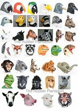 Lattice Animale Maschera Costume Halloween Zoo Giungla Uccello FORREST Safari Fattoria WILD