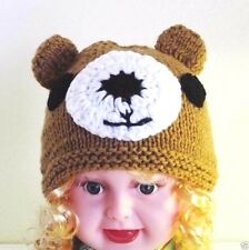 Valego Sales Handmade Knitting Baby Infant Toddler Child ~ BEAR HAT Beanie #003