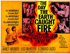 The Day The Earth Caught Fire - 1961 - Movie Poster