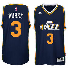 Trey Burke Utah Jazz adidas Player Swingman Road Jersey - Navy - NBA