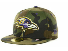 Official Baltimore Ravens NFL Camo Pop New Era 59FIFTY Fitted Hat