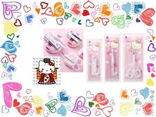 Sanrio Hello Kitty lovely,cute nail clipper,tweezers,eyebrow scissor makeup kit