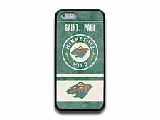 NEW MINNESOTA WILD NHL HOCKEY FOR IPHONE 4 4S 5 5S 5C 6 6 PLUS RUBBER CASE COVER