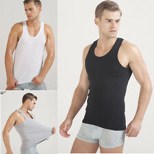 Cotton Men Sexy A-Shirt Tank Top Undershirt Vest Sleeveless Vest T-shirts Tank