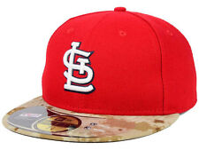 Official 2015 St Louis Cardinals Memorial Day Stars Stripes New Era 59FIFTY Hat