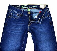 SALE edc by ESPRIT Jeans PLAY Denim Bootcut Gr 26 27 28 Damen Jeanshose Hose L