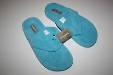 Easy Spirit Women's Flip Flop Slippers E538 Blue NWT New without box