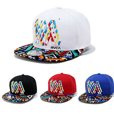 Men Women Unisex Embroidery Baseball Cap Snapback Hip-Hop Flat Hat Adjustable